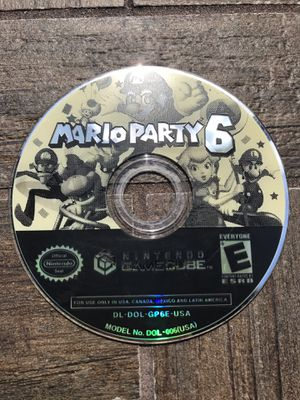 Mario Party 6 Nintendo GameCube Disc for Sale in Tampa, FL