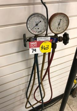 A/C Gauges with Blue, Yellow and Red Hoses for Sale in Houston,  TX