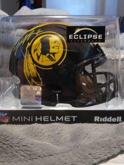 Dwayne Haskins Autographed Washington Redskins Eclipse Helmet With Beckett COA for Sale in Phoenix,  AZ