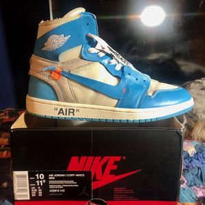 Nike Air Jordan 1 X Off-White for Sale in Vancouver, WA