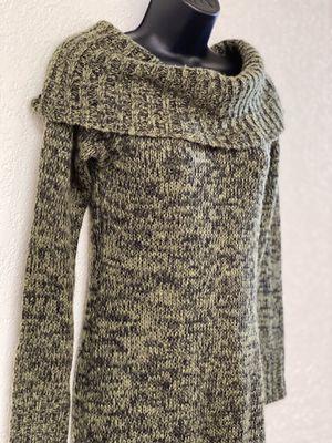 ALLISON BRITTNEY, Green & Black Winter Dress, Size S for Sale in Phoenix, AZ