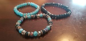 Custom Set of 3 Beautiful Bracelets for Sale in Somerton, AZ