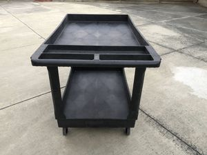 """Black Utility cart 45x25x33"""" for Sale in Mountain View, CA"""