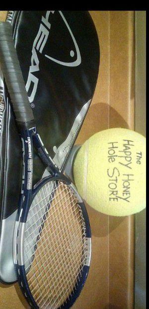 Head tennis racquet + case for Sale in Phoenix, AZ