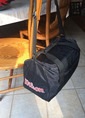 Black Wilson duffle bag. for Sale in Wall Township, NJ
