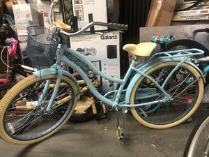 """Huffy 26"""" Womens Nel Lusso Cruiser Bike with Perfect Fit Frame, Blue for Sale in Atlanta, GA"""