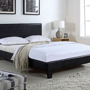 Full size platform bed with mattress and free delivery for Sale in Arlington, TX