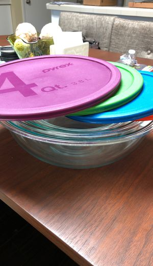 Pyrex mixing bowls for Sale in Long Beach, CA