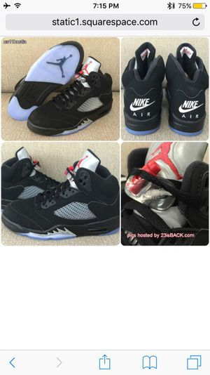 Jordans 5's retro new for Sale in Orlando, FL