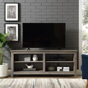 "Sunbury TV stand (fitsTVs up to 58"") (grey) for Sale in Washington, DC"