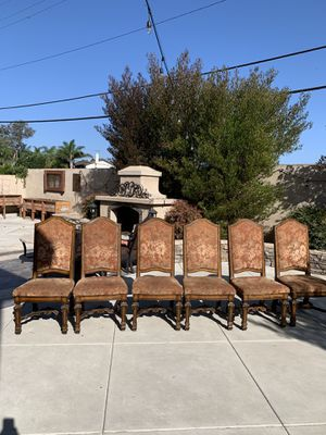 Chairs set of six for Sale in Huntington Beach, CA