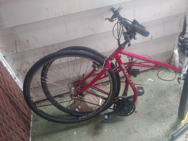 Fuji/ Marlboro folding bike