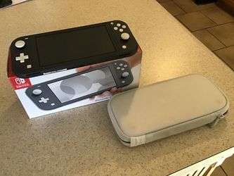 Nintendo Switch Lite (Gray) w/ Original Packaging + Carrying Case for Sale in San Angelo,  TX