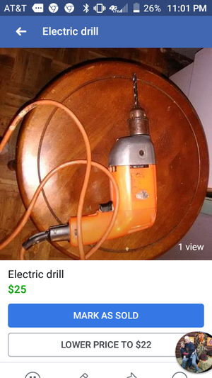 Electric drill unknown brand for Sale in Summersville, WV