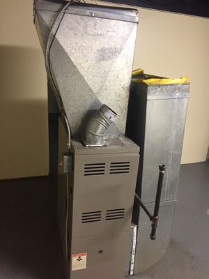 Hot water heater and 3 burner furnace set for Sale in Detroit, MI