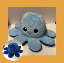 Mood Reversable Plush Toy Octopus Plushie Flip me Emotion Release for Sale in Providence,  RI