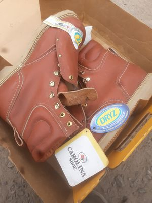 Size 10ee Brand new pair of Carolina steel toed boots for Sale in Milton, PA