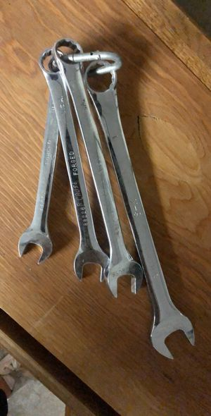 Set of 4 s-k forged wrench for Sale in Waterford, CA