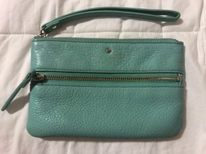 Teal Kate Spade Wristlet for Sale in Fort Lewis, WA