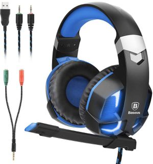 NEW Gaming Headset for PS4, Nintendo Switch, PC, Noise Cancelling Over Ear Headphones Mic for Sale in San Dimas, CA