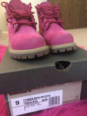 Pink Timberland boots for Sale in Arlington, VA