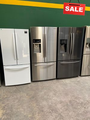 Samsung Refrigerator Fridge 3-Door AVAILABLE NOW! #1543 for Sale in San Antonio, TX
