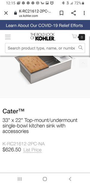 Kohler kitchen sinks for Sale in Bell Gardens, CA