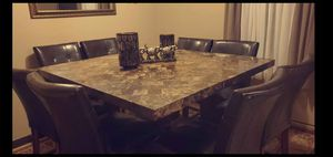 dining table for 6 or 8 tow extra chairs for Sale in Waterford, PA