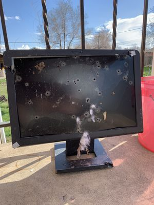 Computer Monitor Minor Issues With Bullet Holes $1200 obo for Sale in Orem, UT