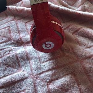 Red Beats Studio3 Wireless for Sale in Wichita, KS