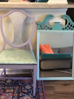 Antique accent chair and chair for Sale in Odenton, MD
