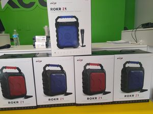 Z1 and z2 rokr Bluetooth speakers for Sale in Washington, DC