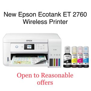 🔥 NEW Epson Eco-Tank 2760 Wireless Print Copy Scan Printer🔥 for Sale in Los Angeles, CA