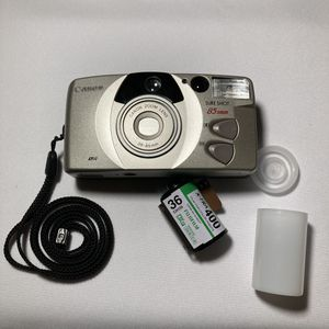 Canon point and shoot 35mm film camera *FULLY TESTED* (with free roll of film) for Sale in South Gate, CA