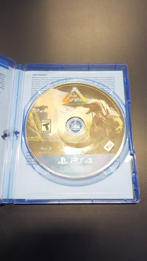 PS4 ARK Survival Evolved (777929-12) for Sale in Tacoma, WA