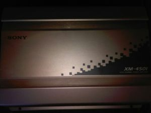 Sony amplifier for Sale in Hanford, CA