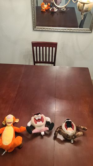 Tigger and Tasmanian devil stuffed animal toys for Sale in Citrus Heights, CA