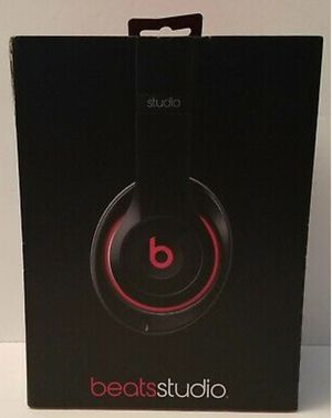 Beats by Dr. Dre Studio 2.0 Wired Over-ear Headphone Black Model B0500 for Sale in Brooklyn, NY