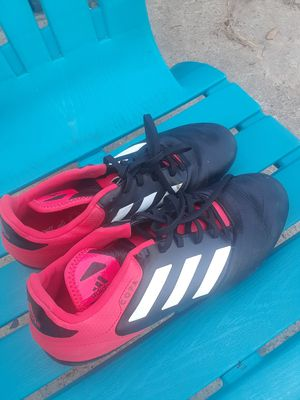 Red Adidas Cleats (size 81/2) $25.00 cash only ( Serious Buyers Only) for Sale in Dallas, TX