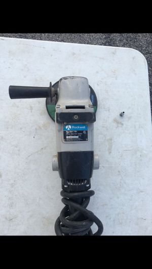 Rockwell heavy duty grinder for Sale in Lockport, IL