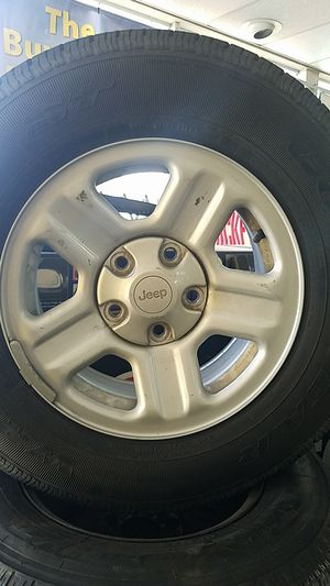 Jeep Wrangler OE 16inch x5 for Sale in Hollywood, FL