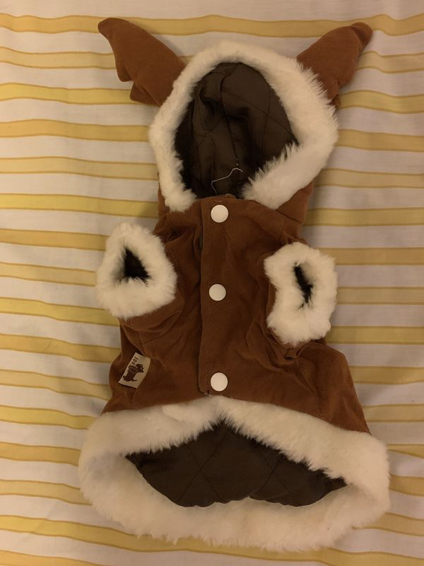 Dog clothes- reindeer costume size S - used
