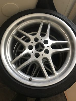 "18"" BMW tire and rims for Sale in Nashville, TN"