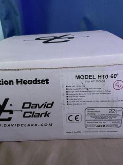David Clark Aviation Headset for Sale in Berlin,  NJ