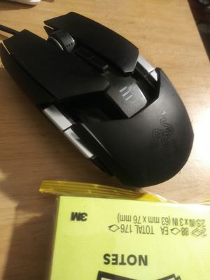Razor ouroboros gaming mouse for Sale in Lancaster, MA