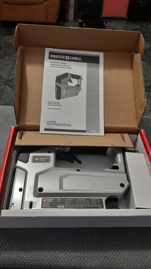 Porter-Cable Pneumatic 18-Gauge 3/8 in. Crown Stapler for Sale in Colton, CA