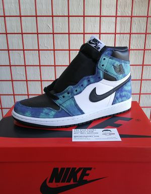 WOMENS NIKE AIR JORDAN 1 RETRO HIGH OG TYE DYE SIZE 8 NEW WITH BOX $325 for Sale in Cleveland, OH