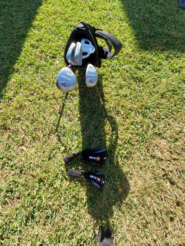 Kids golf club set with bag