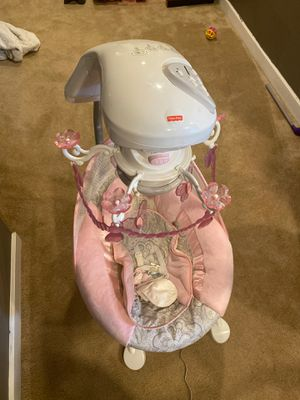 Fisher Price Girls Baby Swing Like Brand New! for Sale in Homer Glen, IL