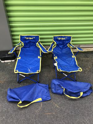 Tot spot small folding lounge chairs for little kids for Sale in Lithonia, GA